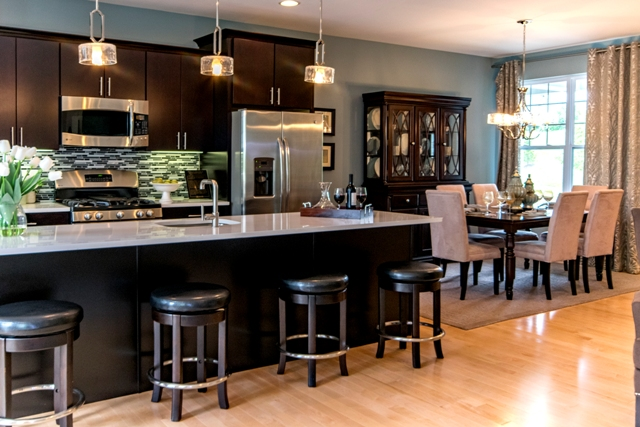 Kitchen Construction Begins Soon : Construction begins on final two oakmont townhomes with